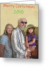 Merry Christmas 2018 Greeting Card