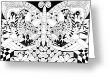 Metamorphosis Arrangement 1 Greeting Card