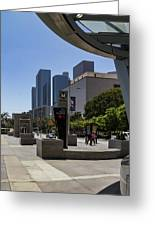 Metro Station Civic Center Los Angeles Greeting Card
