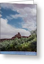 Mexican Hat From San Juan Greeting Card