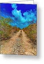 Middle Caicos Rocky Road Greeting Card