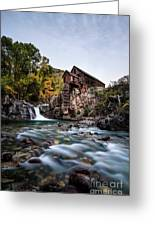Mill On Crystal River Greeting Card