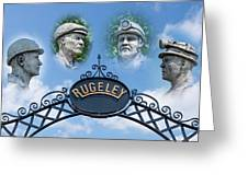 Miners Of Rugeley Greeting Card