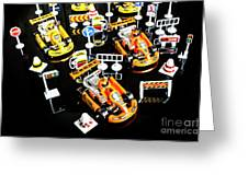 Miniature Motorsports Greeting Card