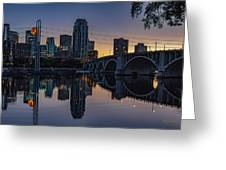 Minneapolis 13 Greeting Card