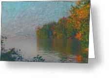 Mississippi Rivers Edge Greeting Card