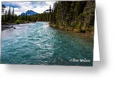Mistaya River Blues Greeting Card
