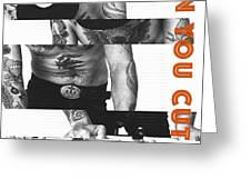 Modelling Can You Cut It? Greeting Card by ISAW Company
