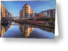 Modern Canal Living Greeting Card