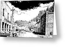 Mogollon New Mexico Ghost Town Greeting Card