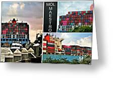 Mol Maestro Collage Greeting Card
