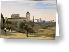 Monte Pincio, Rome Greeting Card
