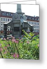 Monument Square Greeting Card