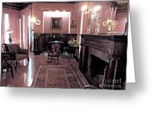 Moody Mansion Study Greeting Card