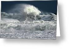 Moody Ocean Greeting Card