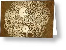 Moon Mechanics Greeting Card
