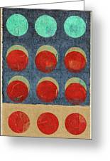 Moon Phases 2 Greeting Card