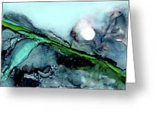 Moondance II Greeting Card by Kathryn Riley Parker