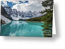Moraine Lake Range Greeting Card