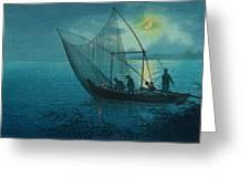 Morigasaki Coast Greeting Card