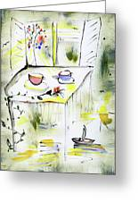 Morning By The Artist Catalina Lira Greeting Card