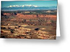 Morning Over Canyonlands Greeting Card