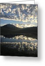 Morning Refection Greeting Card