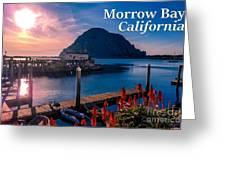 Morrow Bay California Greeting Card
