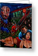 Motel Hell Greeting Card