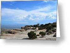 Mount Lemmon Greeting Card