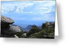 Mount Lemmon View Greeting Card