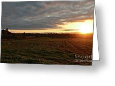 Mount Mansfield September Sunrise Seven Greeting Card
