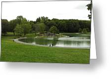 Mount Royale Parc Greeting Card