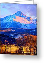 Mount Sneffels Greeting Card