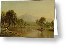 Mount Washington Greeting Card
