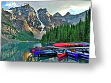 Mountain Tranquility Greeting Card