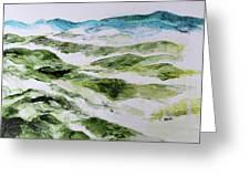 Mountains At Shenandoah 201849 Greeting Card