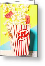 Movie Motion Picture  Greeting Card
