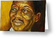 Muddy Waters Greeting Card