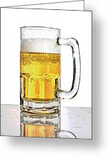 Mug Of Beer Greeting Card