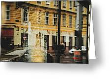 Museum Cafe Greeting Card