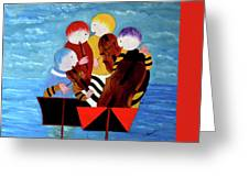 Music Performers Greeting Card