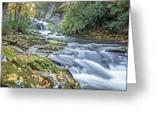 Nantahala Fall Flow Greeting Card