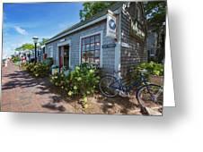 Nantucket Dock Greeting Card