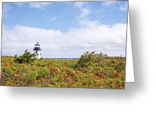 Nantucket Lighthouse Greeting Card