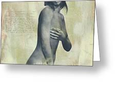 Naomi Greeting Card by Jan Keteleer
