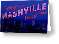 Nashville Postcard Greeting Card