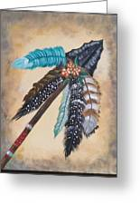 Native American Style  Greeting Card