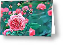 Naturalness And Flowers 31 Greeting Card