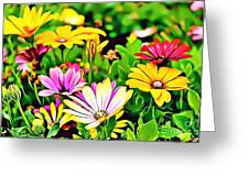 Naturalness And Flowers 35 Greeting Card